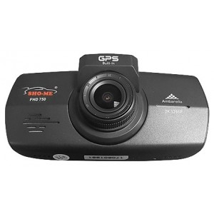 Видеорегистратор Sho-Me FHD-750, черный