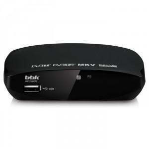 Цифровой ресивер BBK SMP002HDT2, черный