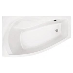 Ванна Santek Майорка XL белая 160х95 WH111991+WH112429+WH112085, левая с сифоном