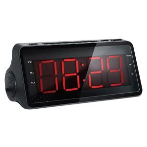 Радиобудильник Hyundai H-RCL140, черный