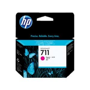 Картридж струйный HP №711 CZ131A пурпурный для для HP Designjet T120/T520 ePrinter series 29 мл