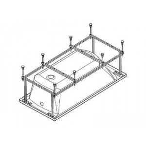 Монтажный комплект для ванны Santek Монако 150х70, WH112424