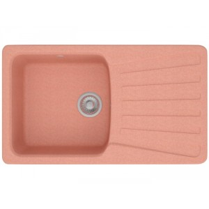 Каменная мойка POLYGRAN F-12 №30, розовый