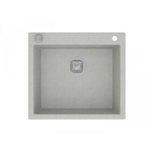 Мойка кварцевая TOLERO R-111 №001, серый металик