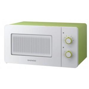 Микроволновая печь Daewoo KOR-5A17, белый/зеленый
