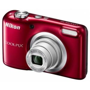 Фотоаппарат Nikon CoolPix A10, красный