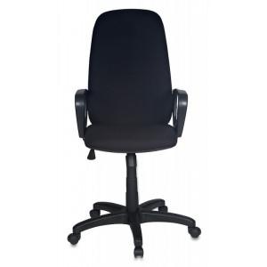 Кресло Бюрократ Ch-808AXSN, на колесиках, ткань, черный [ch-808axsn/#black]