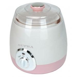 Йогуртница SUPRA YGS-7001, розовый/белый