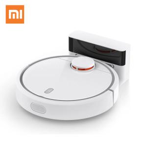 Робот-пылесос XIAOMI Mi Robot Vacuum EU, белый/серый