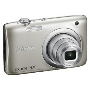Фотоаппарат Nikon CoolPix A100, серебристый
