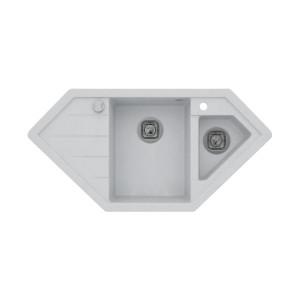 Мойка кварцевая TOLERO R-114 №001, серый металик