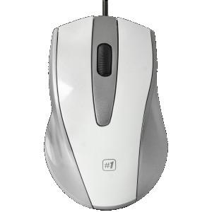 Мышь Defender MM-920, белый/серый