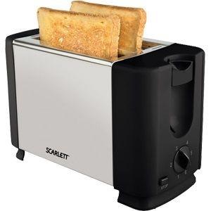 Тостер Scarlett SC-TM11012, серебристый/черный