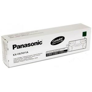 Картридж PANASONIC KX-FAT411A, черный [kx-fat411a7]