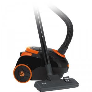 Пылесос Mystery MVC-1122 черный/оранжевый