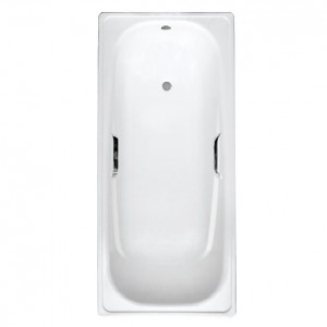 Ванна White Wave Italica белая 170х75 L-1700, с ручками