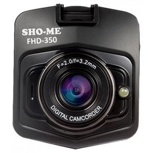Видеорегистратор Sho-Me FHD-350, черный