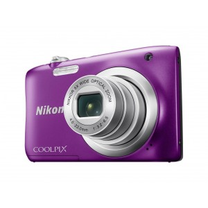 Фотоаппарат Nikon CoolPix A100, фиолетовый