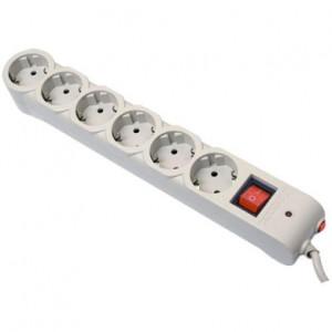 Сетевой фильтр Defender DFS 603, 3м, 6 розеток