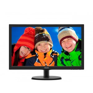 "Монитор Philips 223V5LHSB/00(01), 21.5"", черный"