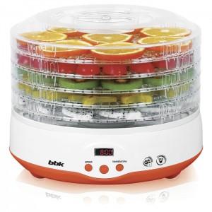 Сушилка для овощей и фруктов BBK BDH204D, белый/оранжевый