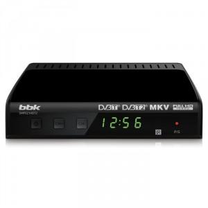 Цифровой ресивер BBK SMP021HDT2 DVB-T2, черный