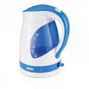 Чайник BBK EK1700P, белый/голубой