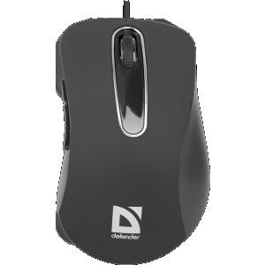 Мышь Defender Datum MM-070, черный