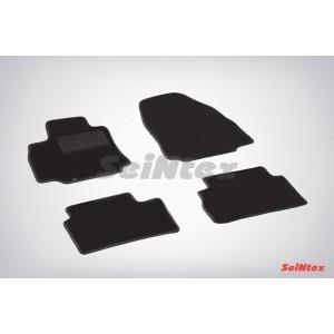 Ворсовые коврики LUX для Nissan Tiida 2007-2014