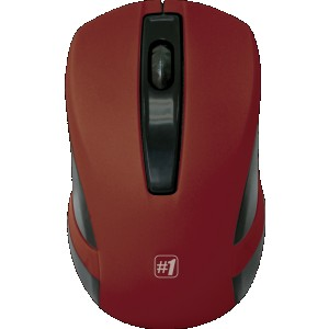 Мышь Defender MM-605, красный